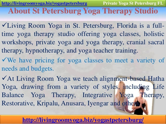2 About St Petersburg Yoga Therapy Studio Living Room In Florida