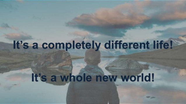 What is life? • Worldview – way of perceiving • Language – way of communicating • Culture – way of doing