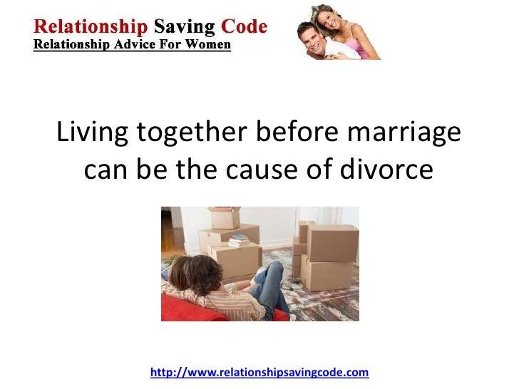 essay on cohabitation before marriage