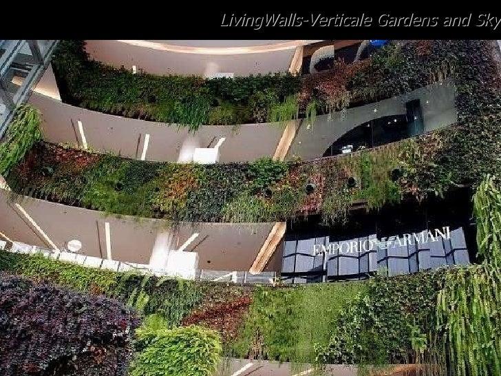 LivingWalls-Verticale Gardens and Sky Farms