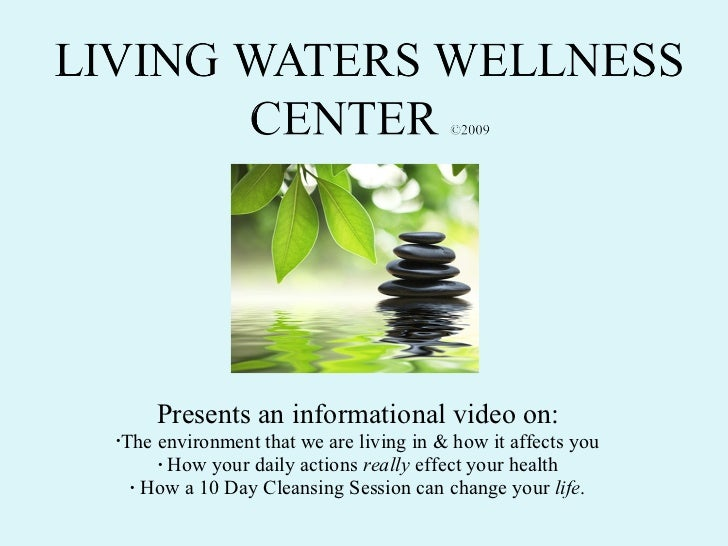<ul><li>Presents an informational video on: </li></ul><ul><li>The environment that we are living in & how it affects you <...