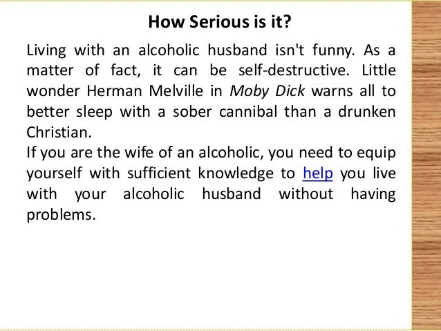 coping with an alcoholic wife