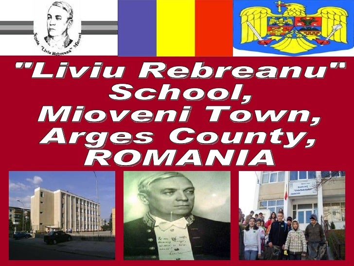 """Liviu Rebreanu""  School, Mioveni Town, Arges County, ROMANIA"
