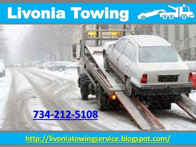 http://livoniatowingservice.blogspot.com/ Livonia Towing 734-212-5108