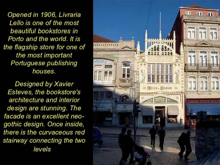 Opened in 1906, Livraria Lello is one of the most beautiful bookstores in Porto and the world. It is the flagship store fo...