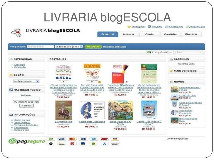 LIVRARIA blogESCOLA
