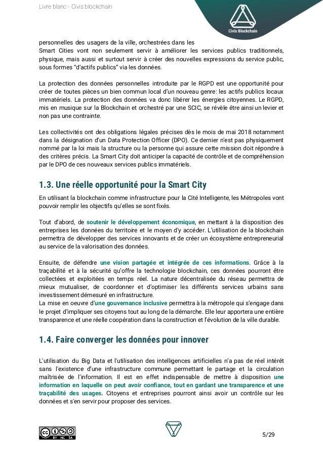 Livre Blanc Civis Blockchain