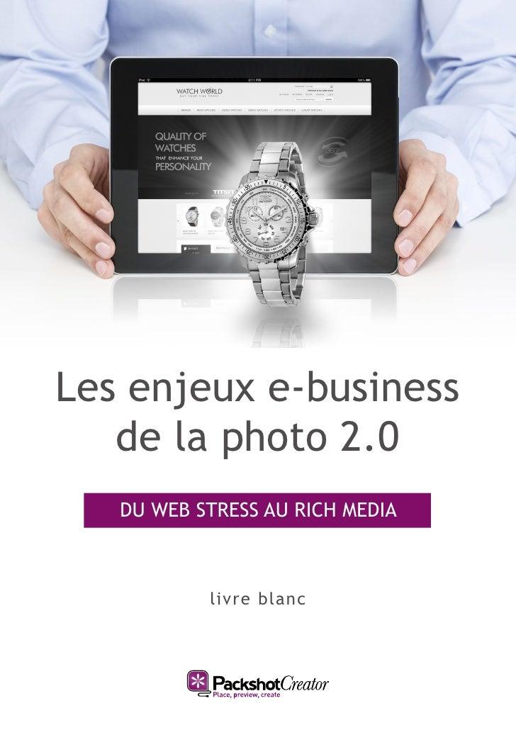 Les enjeux e-business   de la photo 2.0   DU WEB STRESS AU RICH MEDIA           livre blanc