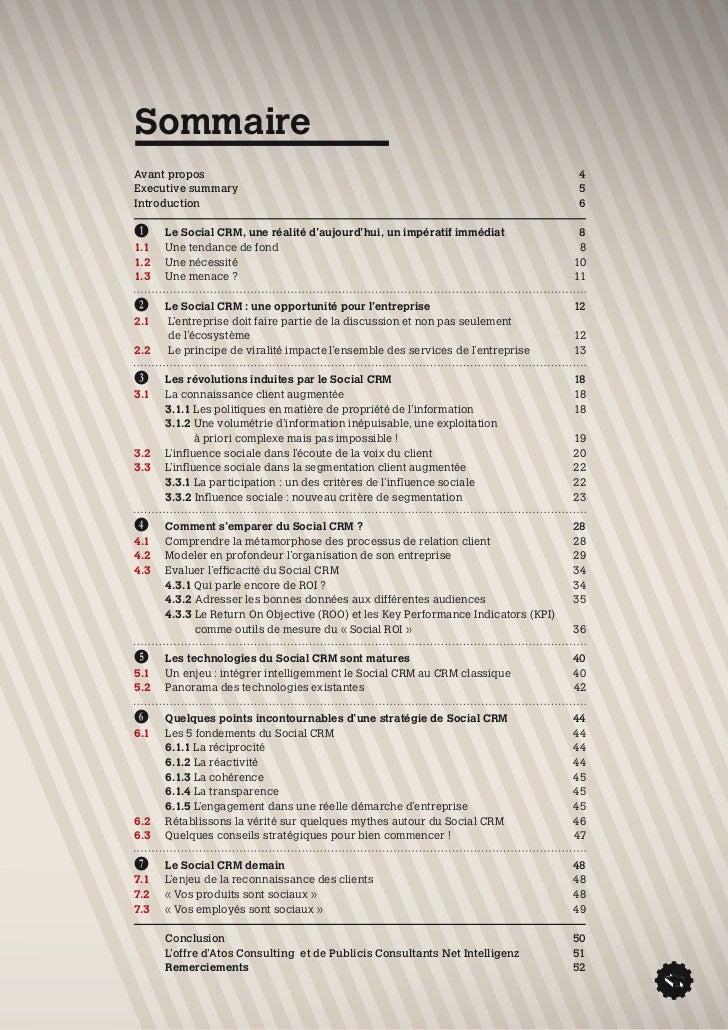 Livre Blanc : le Social CRM, vers la relation client augmentée Slide 3