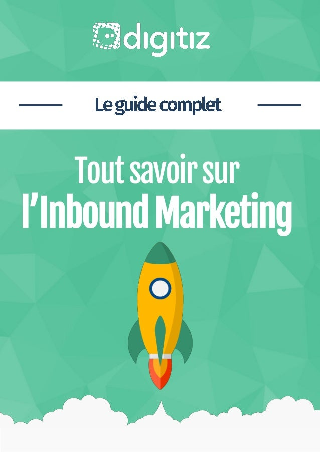 Livre Blanc Inbound Marketing Digitiz 1