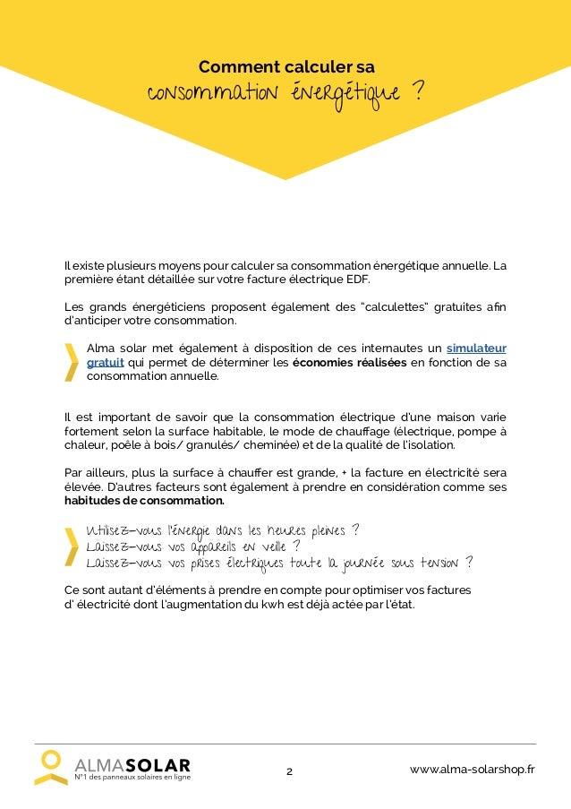 Alma Solar  Livre Blanc Autoconsommation Domestique
