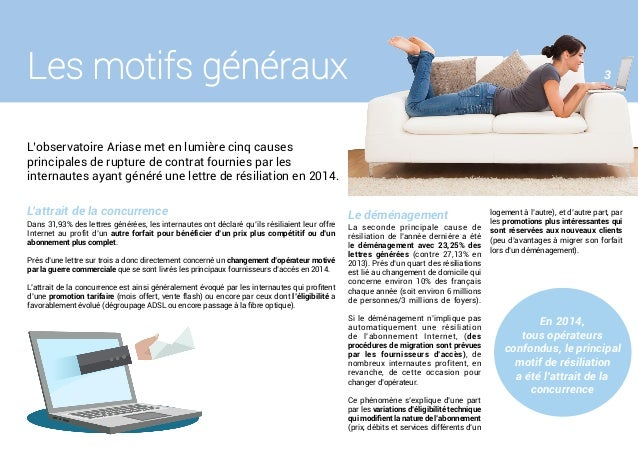 Livre Blanc Observatoire Des Résiliations Internet Janvier