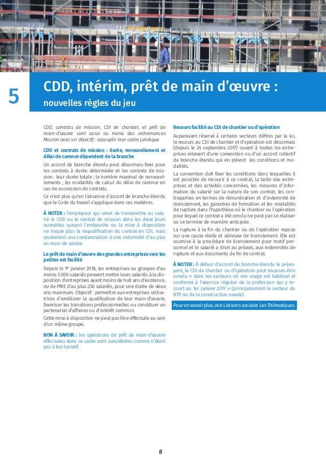 Livre Blanc Réforme Du Code Du Travail Ordonnances Macron