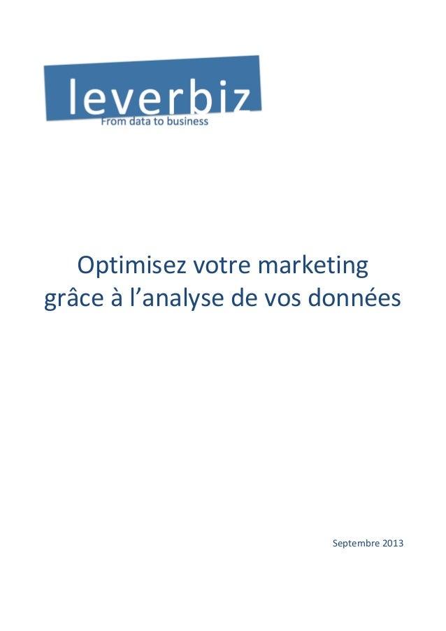 Optimisez  votre  marketing   grâce  à  ...