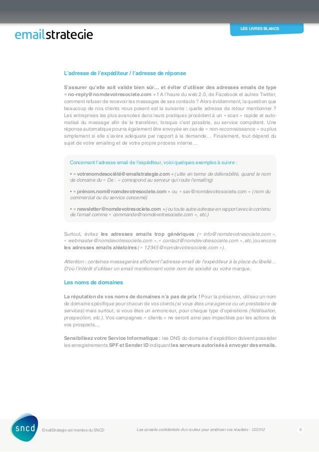 Livre Blanc E Mailing