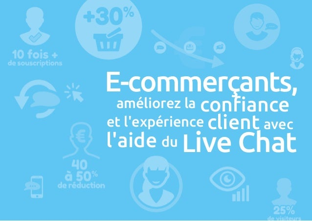 E-commerçants, améliorez la confiance et l'expérience client avec l'aide du Live Chat