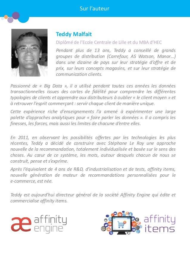 Teddy Malfait  Diplômé de l'Ecole Centrale de Lille et du MBA d'HEC  Pendant plus de 13 ans, Teddy a conseillé de grands g...