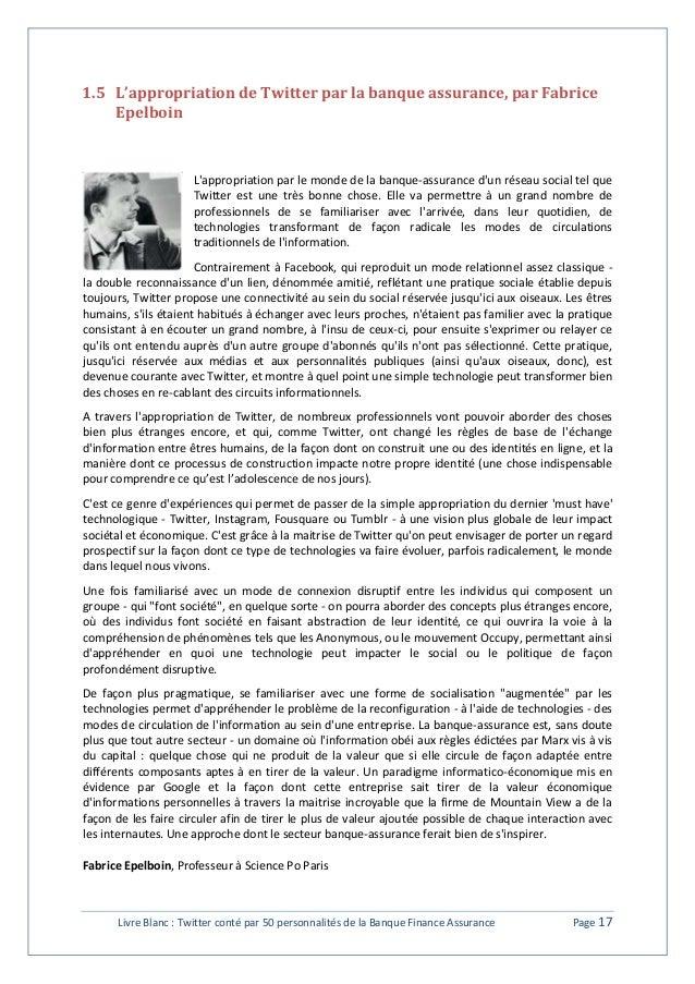 1.5 L'appropriation de Twitter par la banque assurance, par Fabrice  Epelboin  L'appropriation par le monde de la banque-a...