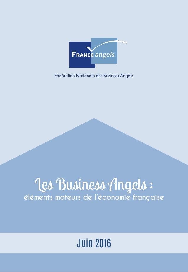 éléments moteurs de l'économie française Juin 2016