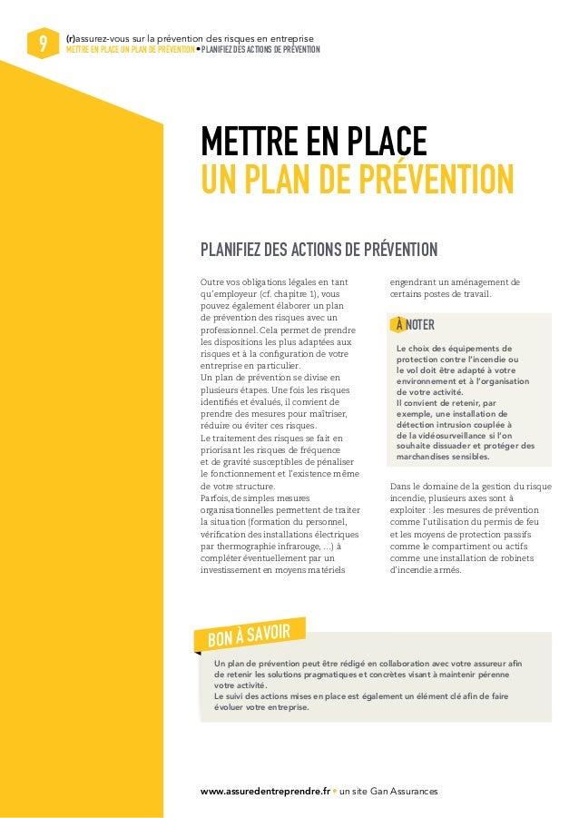 Livre blanc sur la pr vention des risques en entreprise for Plan de prevention des risques entreprises exterieures