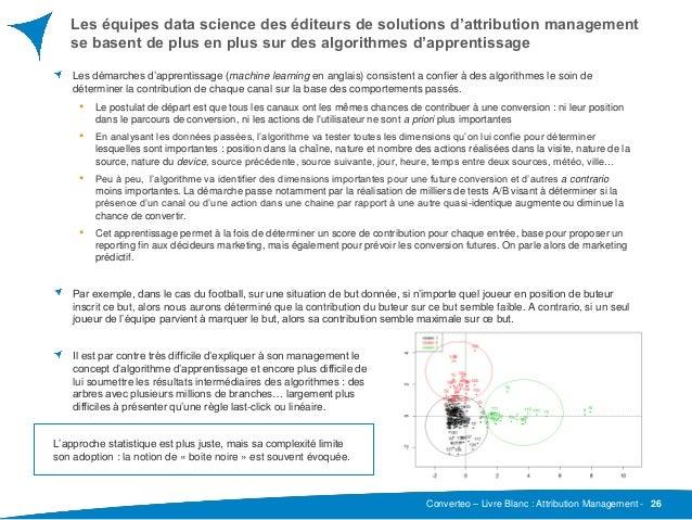 Converteo – Livre Blanc : Attribution Management - Les équipes data science des éditeurs de solutions d'attribution manage...