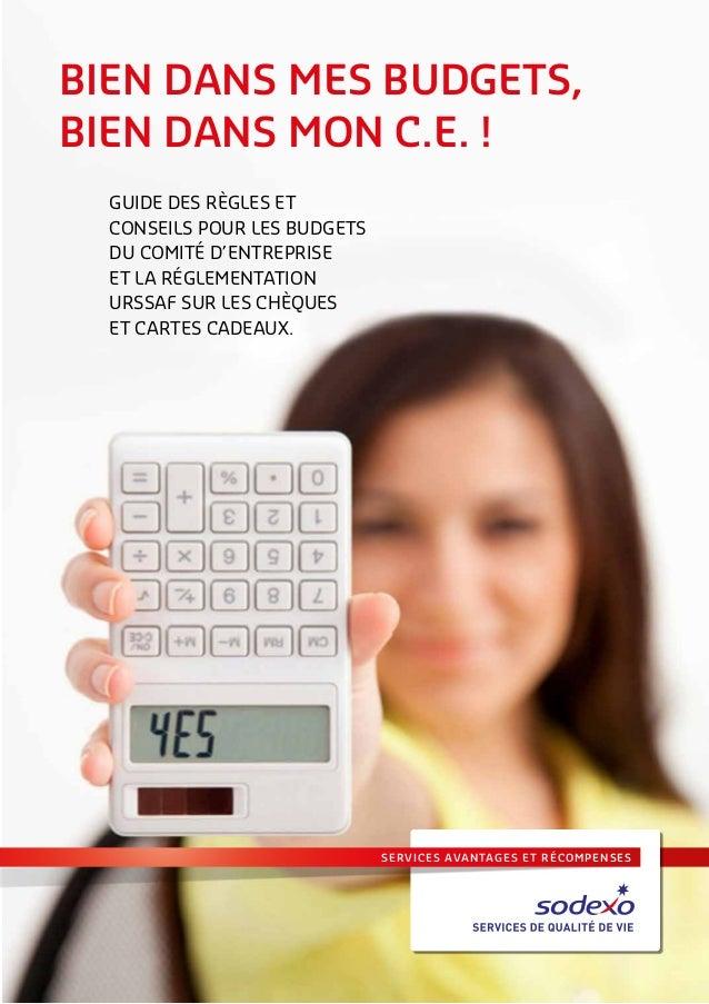 services avantages et récompenses BIEN DANS MES BUDGETS, BIEN DANS MON C.E. ! Guide des règles et conseils pour les budget...