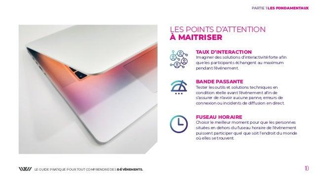 LE GUIDE PRATIQUE POUR TOUT COMPRENDRE DES E-ÉVÉNEMENTS. 10 LES POINTS D'ATTENTION À MAITRISER TAUX D'INTERACTION Imaginer...