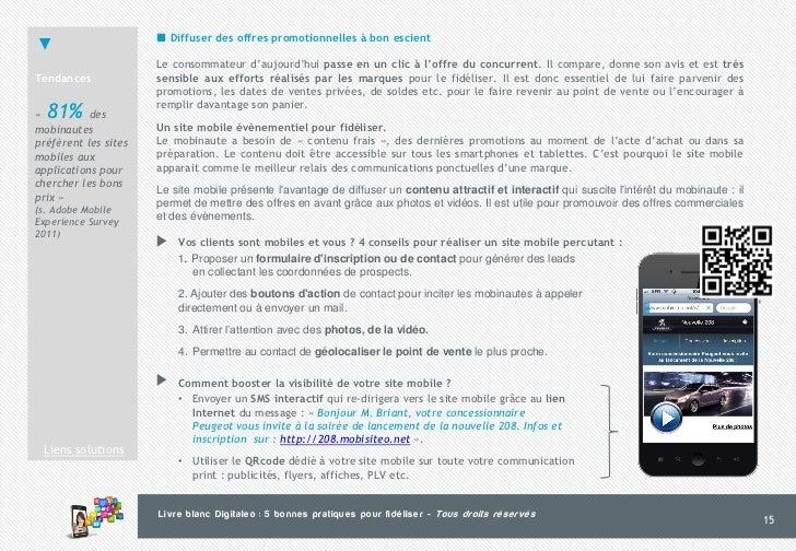 5 bonnes pratiques pour fidéliser via SMS, site mobile, QRcode, email… 95229f9a49a