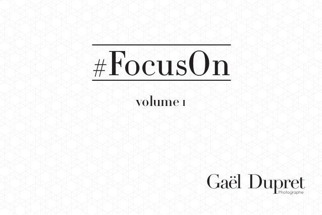 1 #FocusOn volume 1