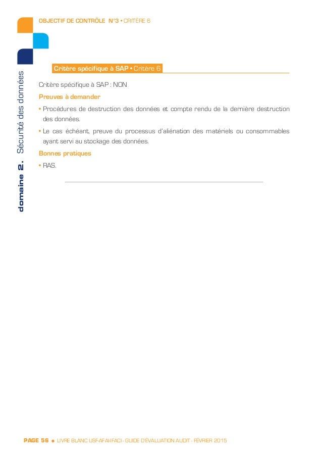 Livre blanc Guide d'évaluation SAP