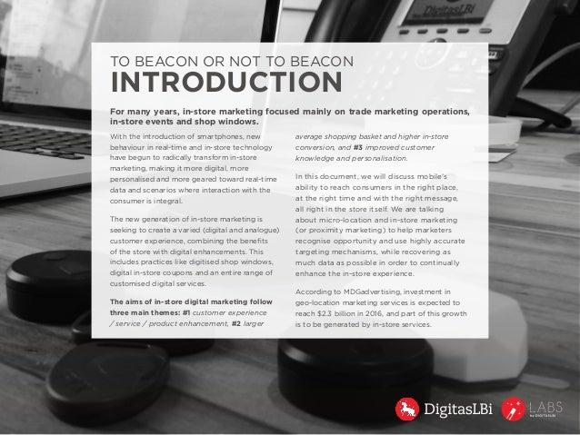 In-Store Marketing via Micro-Location: Beacon Slide 2