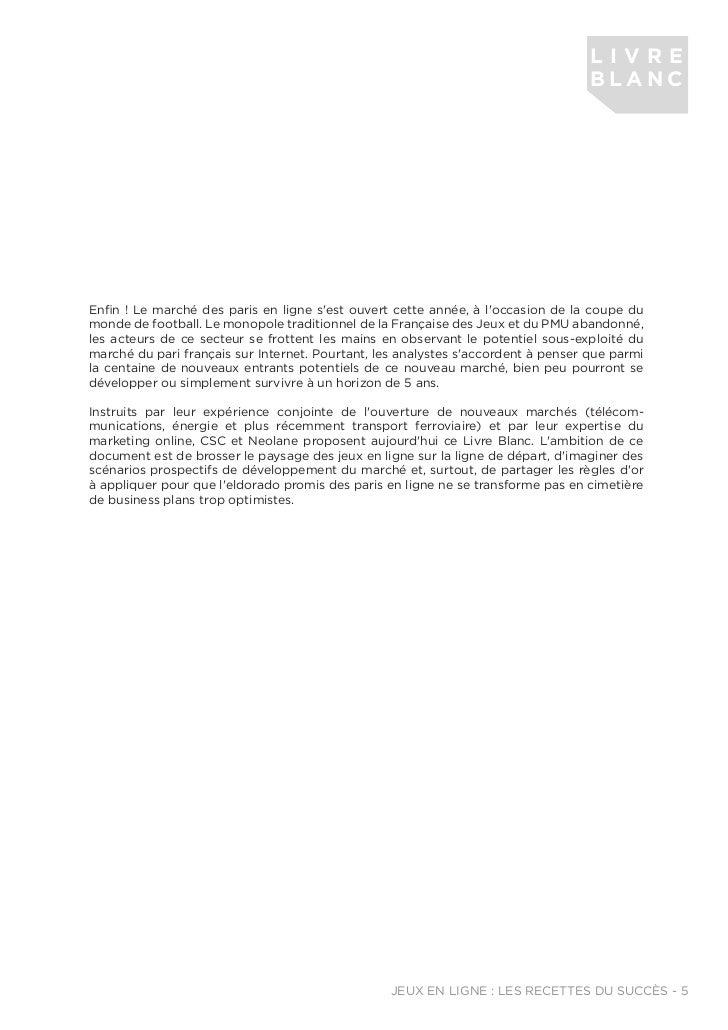 Livre Blanc Jeux En Ligne De Neolane