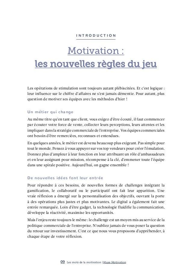 Livre Blanc De La Motivation Commerciale