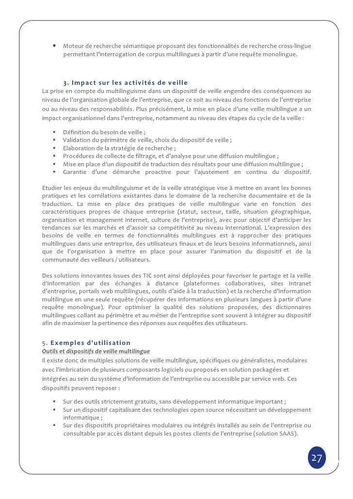 Moteur de recherche sémantique proposant des fonctionnalités de recherche cross-lingue       permettant l'interrogation de...