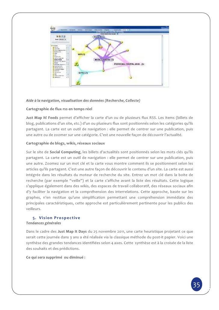 Aide à la navigation, visualisation des données (Recherche, Collecte)Cartographie de flux rss en temps réelJust Map It! Fe...