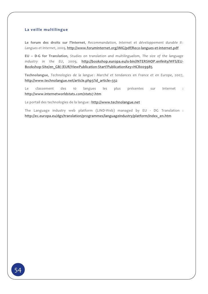 Livre blanc : nouveaux usages de la veille