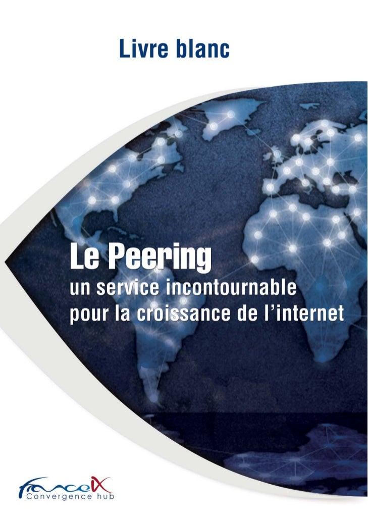 Le livre blanc du peering en France