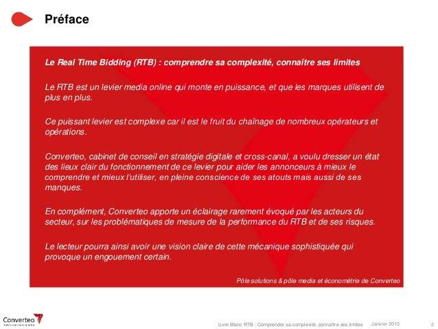 Livre blanc rtb converteo - Cabinet de conseil en strategie digitale ...