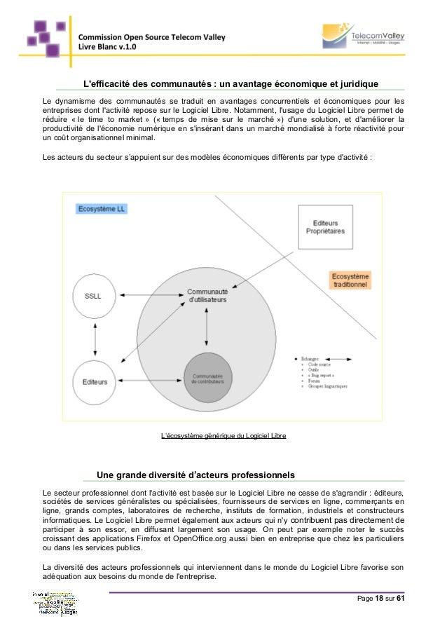 L'efficacité des communautés : un avantage économique et juridique Le dynamisme des communautés se traduit en avantages co...