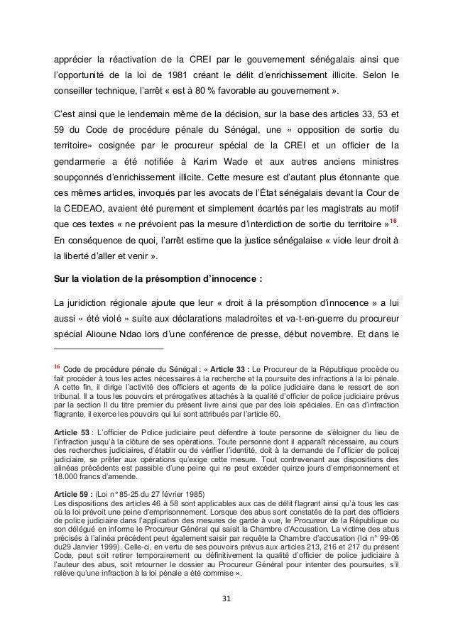 Article 529-10 du code de procedure penale senegal pdf