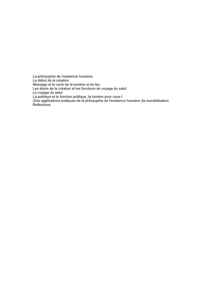 Livre De Philosophie Humanitaire De La CréAtion Slide 2