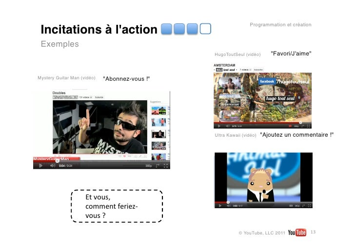 Programmation et création Incitations à laction Exemples                                                  HugoToutSeul (vi...
