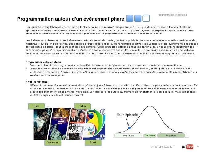 """Programmation et créationProgrammation autour dun événement phare   Pourquoi DiscoveryChannel programme-t-elle """"La semain..."""
