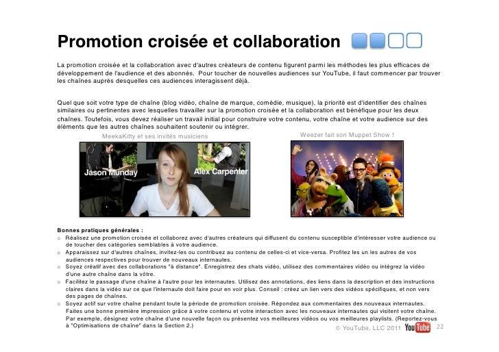 Promotion croisée et collaborationLa promotion croisée et la collaboration avec dautres créateurs de contenu figurent parmi...
