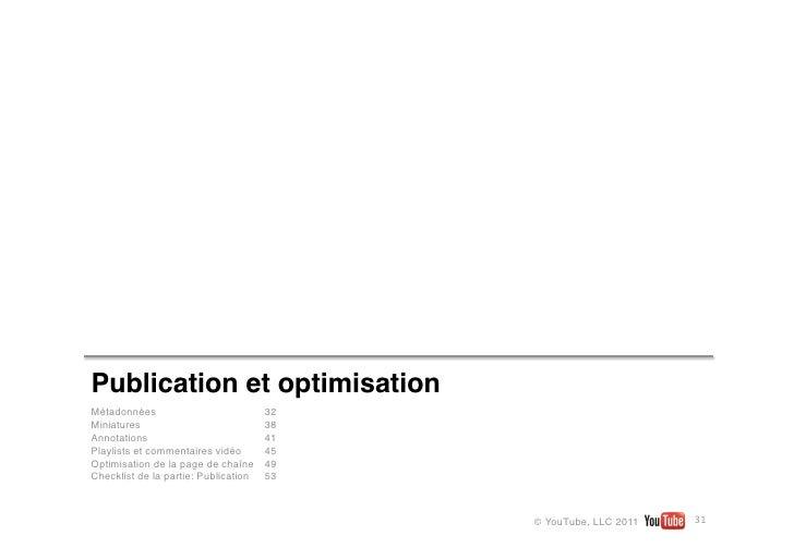 Publication et optimisationMétadonnées                           32Miniatures                            38Annotations    ...
