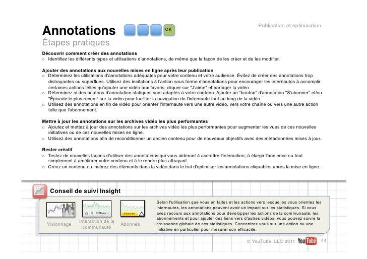 Publication et optimisationAnnotations                                                OKÉtapes pratiquesDécouvrir comment ...