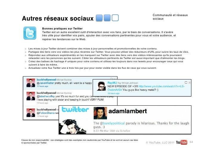 Livre des createurs youtube