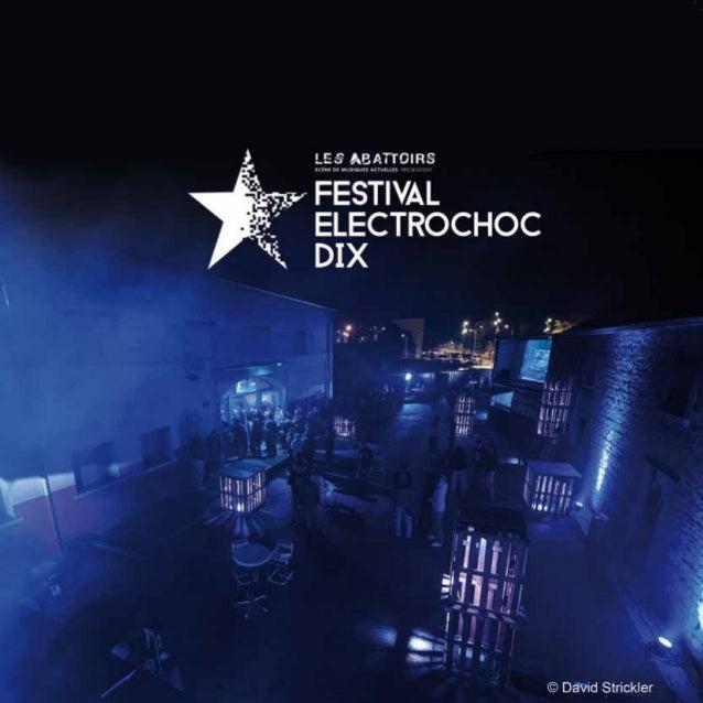 Livre Festival Electrochoc 10 [2015]