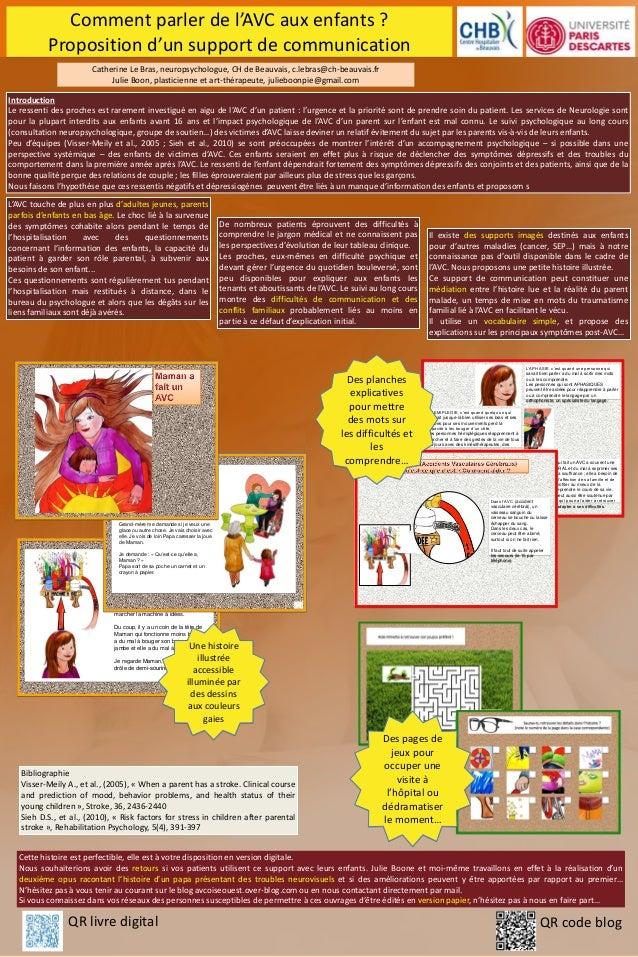 Comment parler de l'AVC aux enfants ? Proposition d'un support de communication L'AVC touche de plus en plus d'adultes jeu...