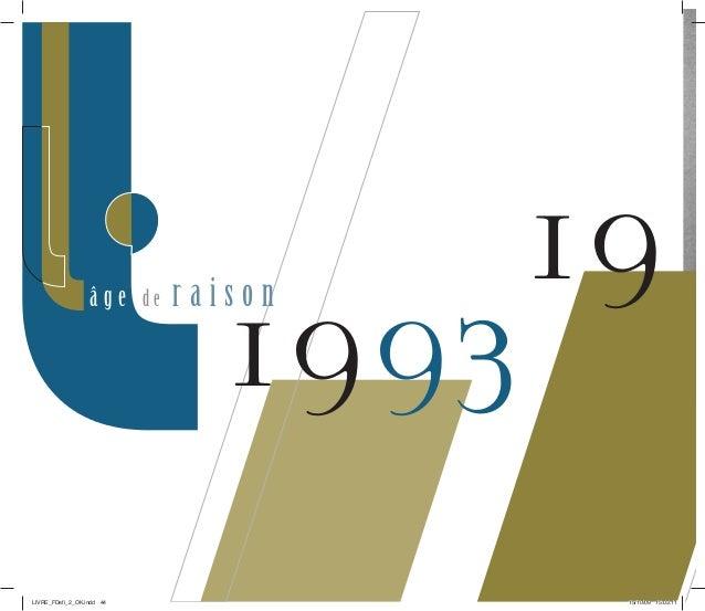 19  1993 â g e d e r a i s o n  LIVRE_FDefi_2_OK.indd 44 15/10/09 15:03:11